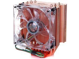 PC Cooler Red Ocean Extreme S93E CPU Cooler 90mm 4-Pins Silent Fan With Copper Heatsink For AMD Socket 754/939/940/AM2/AM3/FM1/FM2, Intel Socket LGA2011 /LGA775 /LGA1366/LGA1155/LGA1156