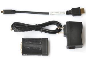 Dell HDMI to VGA, Micro HDMI to VGA Adapter 74-10144-01