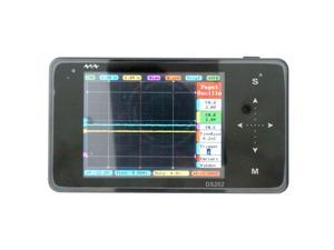 ARM DSO202 DS202 Portable Mini Digital Oscilloscope With Probes Handheld Touch Screen