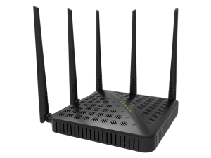 Tenda FH1202 AC1200 Dual-band Wi-Fi Router High Power 5 Antennas - 2.4GHZ (300Mbps), 5GHZ (867Mbps)