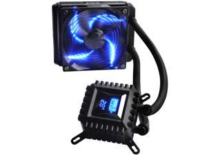PcCOOLER Freeze 120 Liquid cooling Radiator 120mm Silent Fan Temperature Digtial Display Water CPU Cooler Socket LGA 775 1155 1150 1156 1366 2011 FM2 FM1 AM3+ AM3 AM2+ AM2