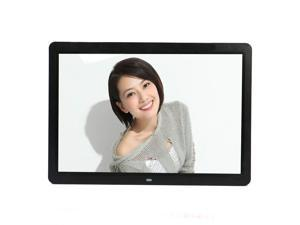 "HQmade 1366 x 900 15.2"" 16:9 LED Digital Photo Frame Movie Audio Play Black"