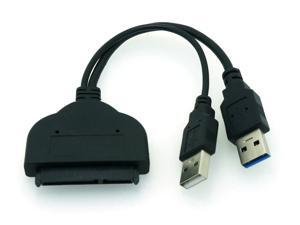 HQmade USB 3.0 to SATA 22-Pin (7+15Pin) Adapter Cable For Hard Drive use