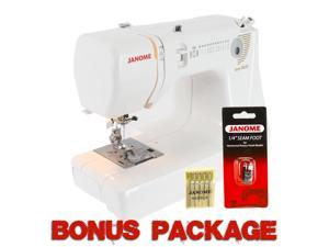 Janome Jem Gold 660 12-Stitch Lightweight Sewing Quilting Machine + Free Bonus!!