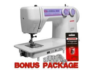 Janome 712T Treadle Sewing Machine w/ Bonus Package!
