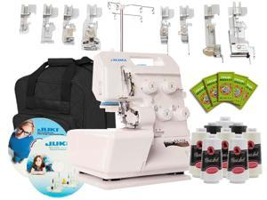 Juki Pearl Line MO-654DE 2/3/4 Thread Serger w/ BONUS Package Extras!!!