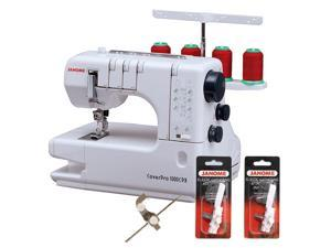 Janome 1000CPX Cover Pro w/ FREE BONUS PACKAGE