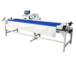 King Quilter SE Long Arm w/LED H-Bars/Android Tab/Pro-Grade Stitch Reg/12' Frame