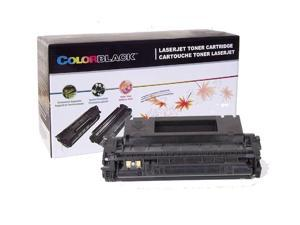 ColorBlack® 1 Piece / box Premium Remanufactured HP C5949X Black Toner Cartridge With Chip, 6000 Page Yield @ 5% Coverage, Suitable For Use In HP LaserJet 1320 /  1320N /  1320TN /  3390MFP …