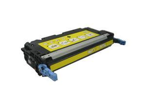 ColorBlack® Premium Remanufactured HP Q6472A / 502A Yellow Toner Cartridge With Chip, 4000 Page Yield @ 5% Coverage,  Suitable for use in HP LaserJet 3600 / 3600N / 3600DN