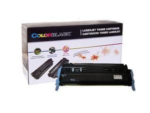 ColorBlack® 1 Piece / box Premium Remanufactured HP Q6002A / 124A Yellow Toner Cartridge With Chip, 2000 Page Yield @ 5% Coverage,  Suitable for use in HP Color LaserJet 2600 / 1600 / 2605 …