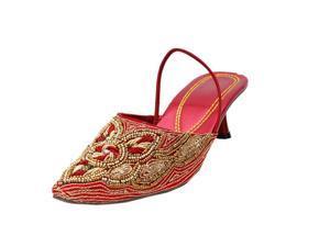 Saashiwear handcrafted Indian Ethnic Flat Shoes Jutti