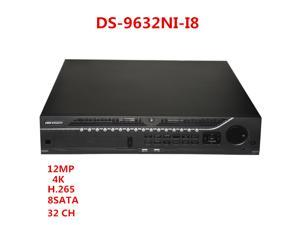 Hikvision DS-9632NI-I8 NVR 32CH Embedded 12MP 4K HDMI Network Video Recorder 8SATA HDD