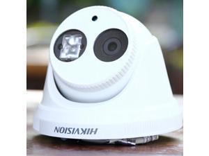 Hikvision Multi-language DS-2CD3345F-I Network Camera 4MP POE IR CCTV IP Dome Camera 2.8mm Lens