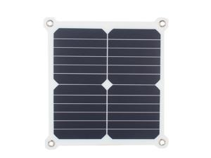 11W 5V 2A Portable Solar Panel Cellphone Charger Powerbank Double USB Output