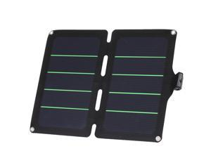 13W 5V 2A Folding Solar Panel Portable CellPhone USB Charger Outdoor Powerbank