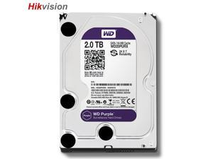 Western Digital WD20PURX 2TB HDD 3.5 Inch 6Gb/s 5400RPM Internal Hard Drive For Surveillance Network Video Recorder