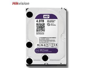 """Western Digital WD40PURX 4TB Hard Disk Drive Purple 3.5"""" HDD SATA 6GB Internal Hard Drive For Surveillance NVR"""