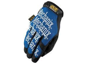 Mechanix Wear® Medium Black And Blue The Original® Full Finger Synthetic Leather Mechanics Gloves With Hook And Loop Cuff, Spandex® Back, Synthetic Leather Palm And Fingertips And Reinforced Thumb