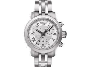 Tissot Women's 35mm Chronograph Steel Bracelet & Case Date Watch T0552171103300