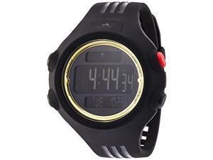Adidas adp6137 Men's 53mm Black Polyurethane Case Quartz Date Watch