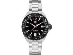 Tag Heuer Formula 1 Men's 41mm Silver Steel Bracelet & Case Watch WAZ1110.BA0875