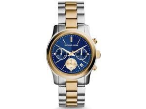 Michael Kors MK6165 Women's 38mm Chronograph Mineral Glass Quartz Date Watch