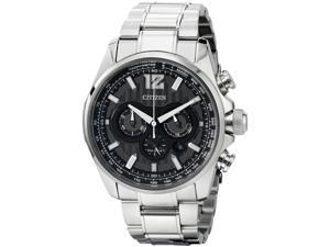 Citizen Men's 42mm Chronograph Silver Steel Bracelet & Case Watch BU2021-51L