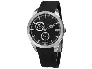 Tissot T-Sport Gmt Men's 43mm Black Rubber Quartz Date Watch T069.439.47.061.00