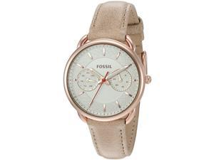 FOSSIL WOMEN'S 34MM CALFSKIN BAND STEEL CASE AUTOMATIC ANALOG WATCH ES4007
