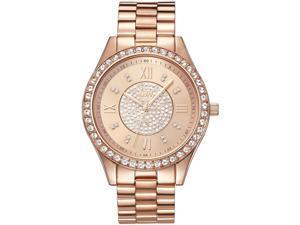 JBW WOMEN'S MONDRIAN 37MM ROSE GOLD PLATED BRACELET & CASE QUARTZ WATCH J6303C