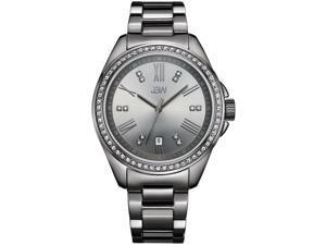 JBW WOMEN'S CAPRI DIAMOND 38MM STEEL BRACELET & CASE QUARTZ WATCH J6340E