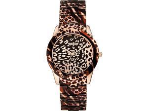 Guess VIXEN Women's 38mm Multicolor Steel Bracelet Mineral Glass Watch W0425L3