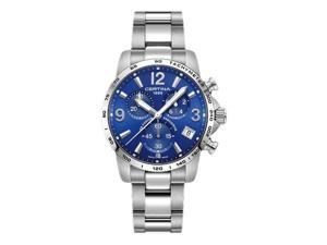 CERTINA MEN'S DS PODIUM 41MM STEEL BRACELET QUARTZ WATCH C034.417.11.047.00