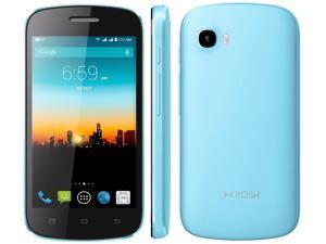 "POSH Kick Lite S410a - 4.0"", Android 4.4 Kit Kat, Dual-core, 4GB, 5MP Camera, Compact fun-size GSM UNLOCKED Smartphone"