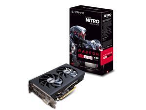 Sapphire Radeon NITRO RX 460 4GB GDDR5 HDMI/DVI-D/DP OC (UEFI) PCI-E Graphics Card (11257-02-20G)