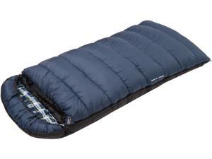 Glacier Zero Degree Extra Long Rectangular Flannel Sleeping Bag