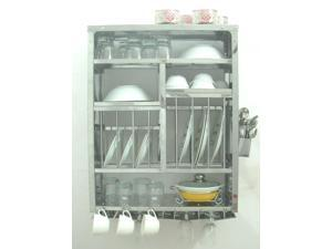 Stainless Steel Dish Drainer Display Rack