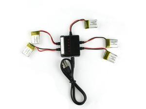 JJRC H8 3.7V 150mAh Mini Lipo Battery and Charger for for Eachine H8 Mini rc quadcopter helicopter