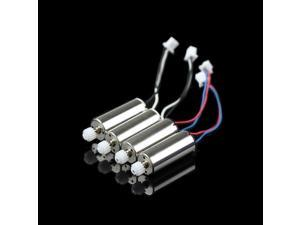 4pcs X400 Motor Main Motor A+ Main Motor B for MJX X400 2.4G 6-axis RC quadcopter drone