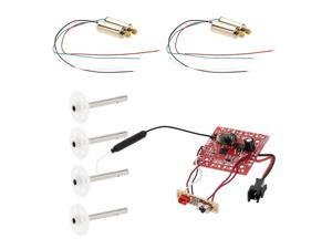 Original JJRC Part Receiver Board and Motor with Motor Gear for JJRC H8C RC Quadcopter Motor Gear