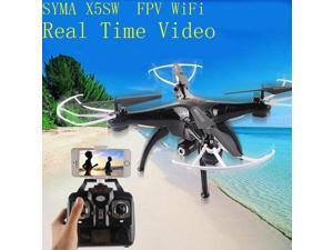 SYMA X5SW FPV Drone 2.4G 4CH 6-Axis Quadcopter With 2.0MP WiFi Camera Real Time Video Remote Control Helicopter Quadrocopter Radio Control Toys