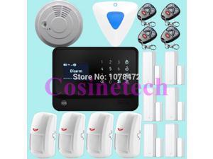 Internet WiFi GSM GPRS Home Security Alarm System G90B alarm Kit home Security WIFI alarm system GSM burglar alarm system