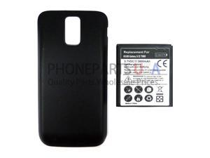 For Samsung Galaxy S2 Hercules T989 - 3800 mAH Extended Battery - Black - All Repair Parts USA Seller