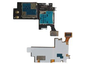 Galaxy Note 2 N7100 International Sim Card Memory Card Tray Flex Cable - All Repair Parts USA Seller
