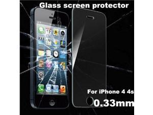 HOT sale For Alppe iPhone 4 4s 2.5D Premium Tempered Glass Screen Protector for iPhone 4s Toughened protective film 2014 new
