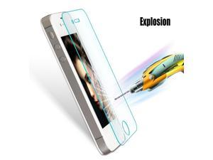2pcs High Quality 0.3mm 2.5D round edge  Clear Tempered Glass Screen Protector For iPhone 4 4S Protective Film Screen Guard