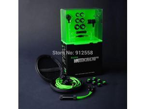 Razer Hammerhead Pro In Ear Earphone&Headphone With Microphone+Retail Box Gaming Headset Noise Isolation Stereo Bass 3.5mm