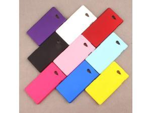 For Sony M2 Ultra Thin Matte Scrub Frosted Hard Back Mobile Phone Case PC Cover For Sony Xperia M2 Aqua