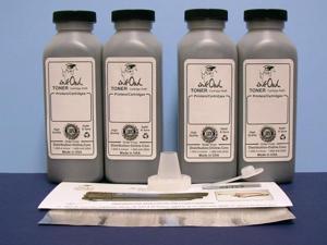 InkOwl® - 4 Laser Toner Refill Kit for CANON E16, E20, E31, and E40